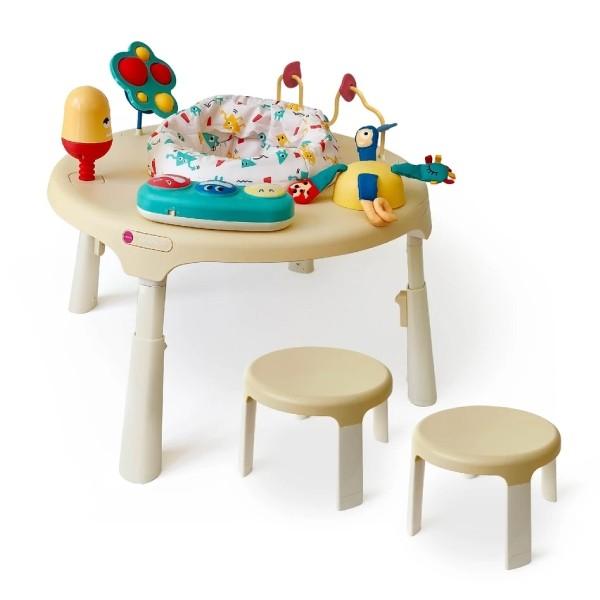 【Oribel】遊戲桌配件 二入椅 (米/灰/綠)(一組二入)