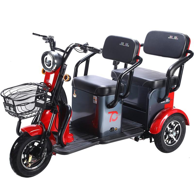 【車居生活館】鳳凰鳳炫電動三輪車家用載人拉貨小巴士老年人出游拉貨電瓶車喲