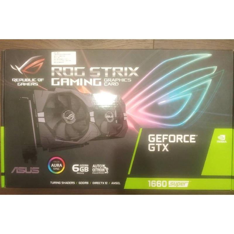 現貨全新 華碩 ROG STRIX GTX 1660 super (GTX 1660S 6G GAMING) 顯示卡