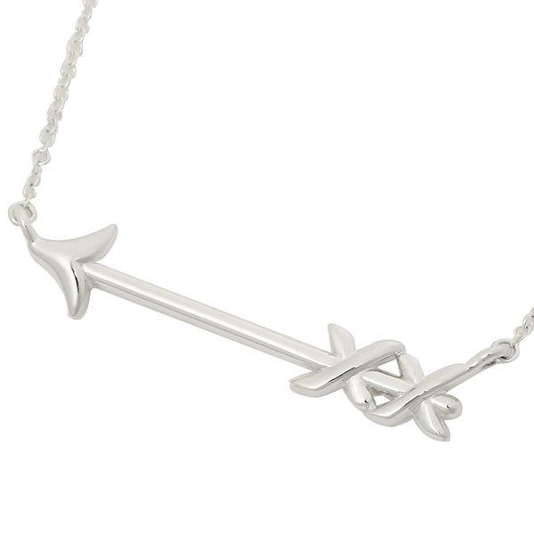 Tiffany & Co. 塗鴉箭頭純銀項鍊
