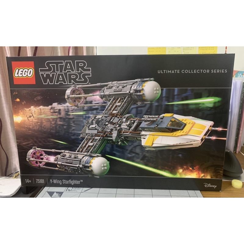 LEGO 75181《星際大戰》【Y 翼戰機】Star Wars UCS Y-Wing Starfigh