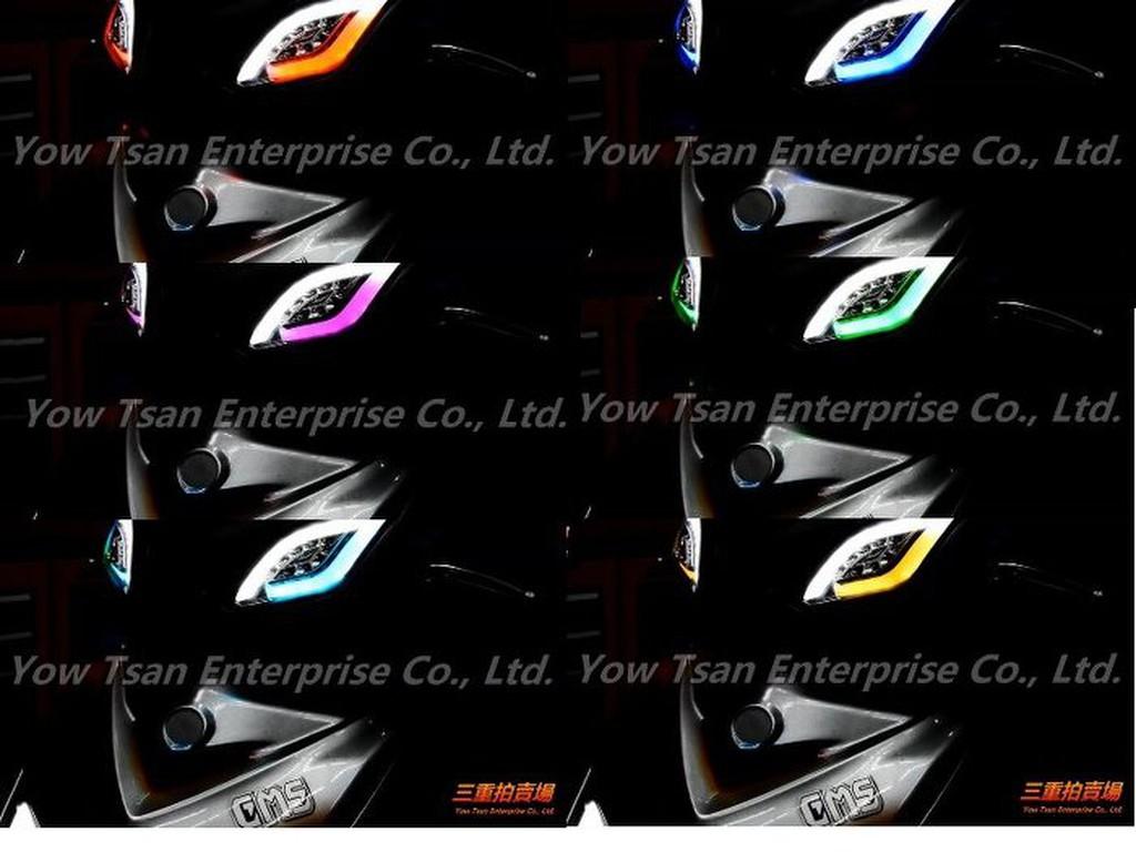 三重賣場 嘉瑪斯D1方向燈 七彩版本 新勁戰三代專用 合法魚眼 非BMW尾燈 KOSO尾燈 S1霧燈 A3魚眼 R3尾