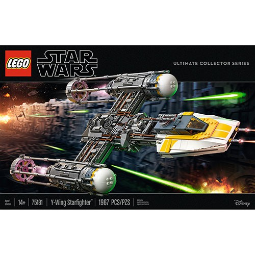 LEGO 樂高 STAR WARS 星際大戰 - LT75181 Y-Wing 星際戰鬥機