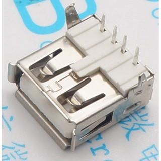 【俗俗賣3C】 USB-A母座 90度 彎腳 USB-A USB插座 DIY 接頭 充電器 電源 主機 高雄市