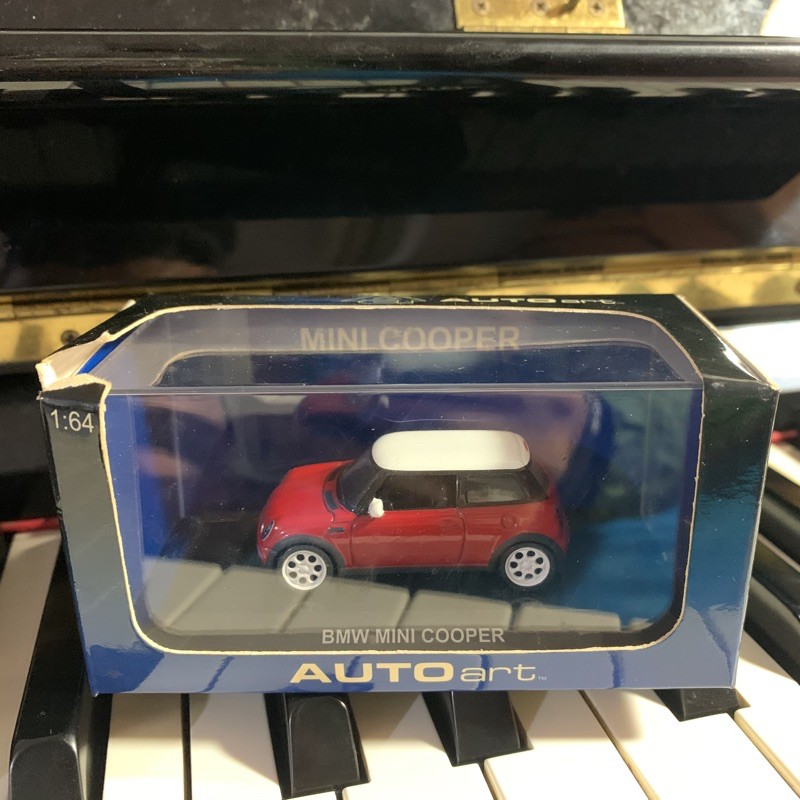 BMW MINI COOPER 1:64汽車模型