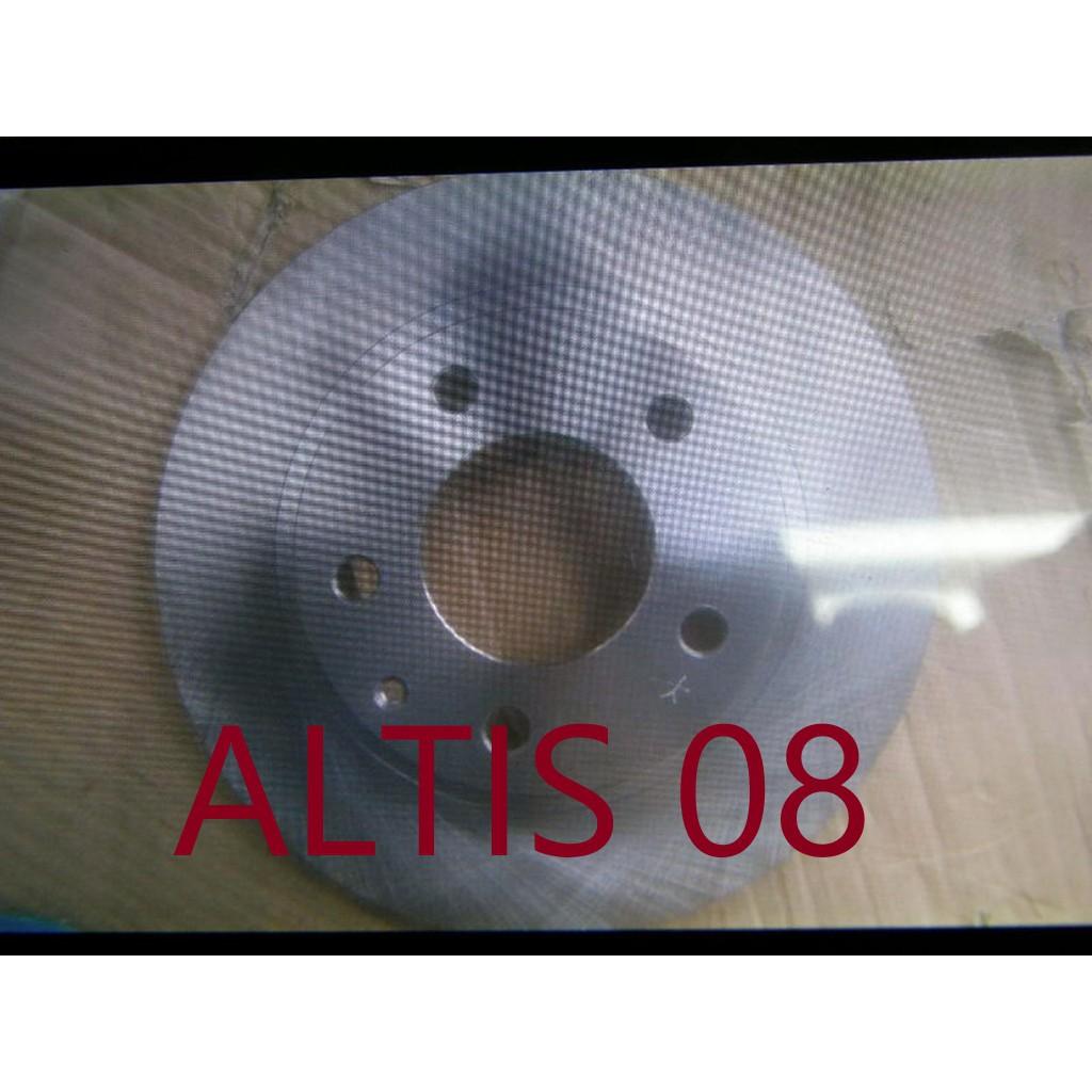 SW 台製高材質 豐田 ALTIS 08 前煞車盤 前煞車碟盤 各式來令片,煞車皮,修理包,分邦,總邦 歡迎詢問