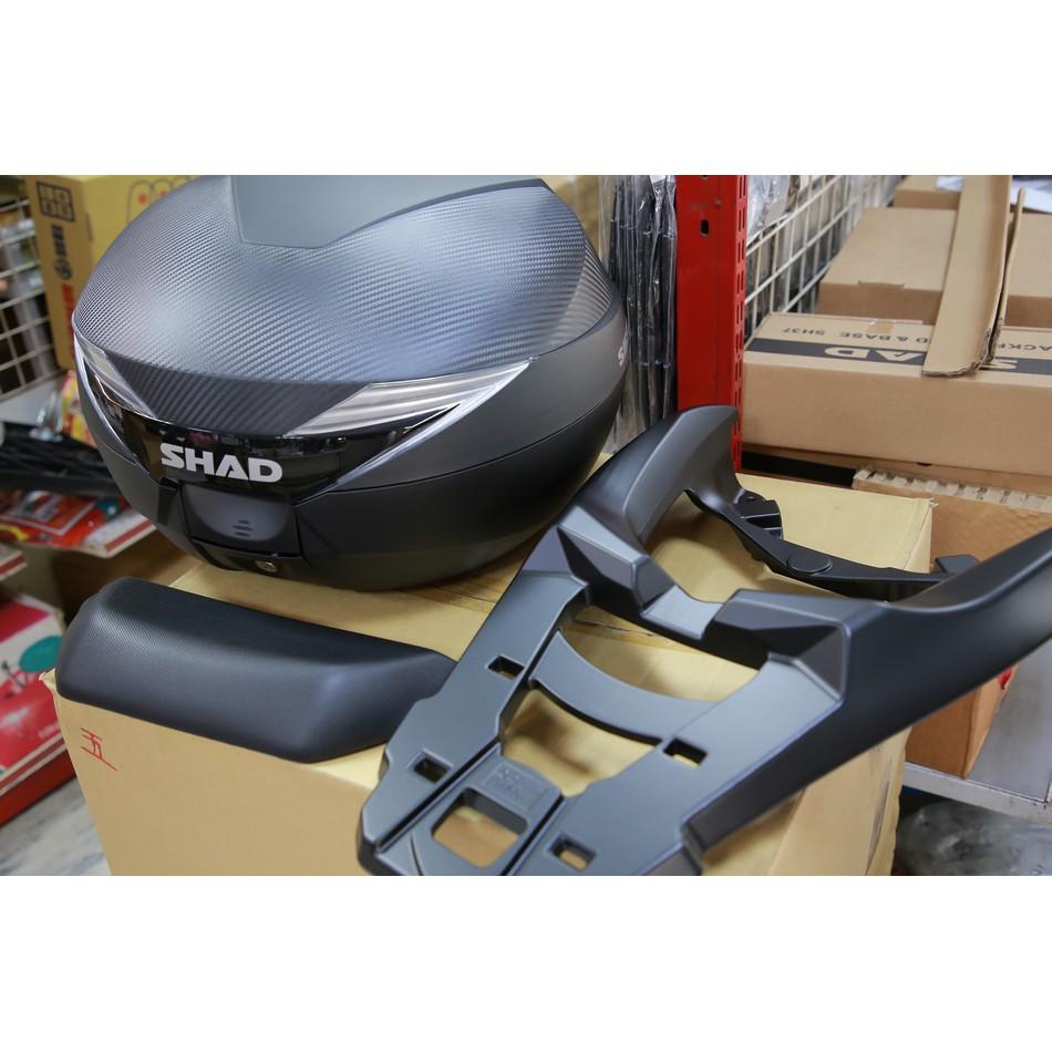 兩輪轎車 NMAX 鋁合金後箱架+SH39+靠背 組合價 台灣現貨 當日寄出  NMAX貨架 後架 後貨架 後箱架