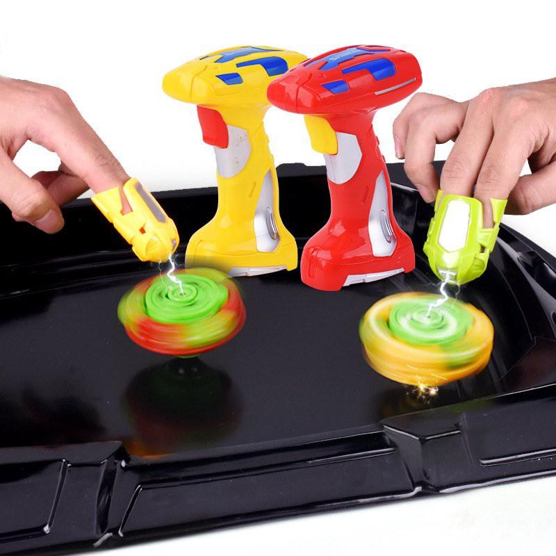 戰鬥陀螺玩具套裝電動磁控陀螺兒童戰鬥盤對戰男女孩子新奇特玩具