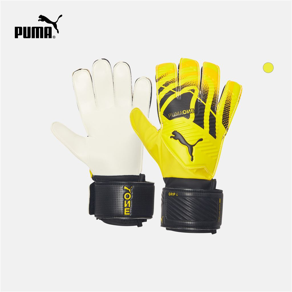 PUMA彪馬官方正品新款經典足球守門員手套PUMA ONE GRIP 041655現货