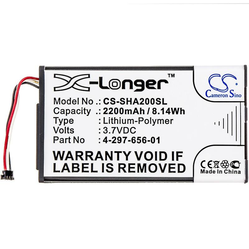 適用索尼Sony PHA-2 PHA-2A藍牙音響電池4-297-656-01