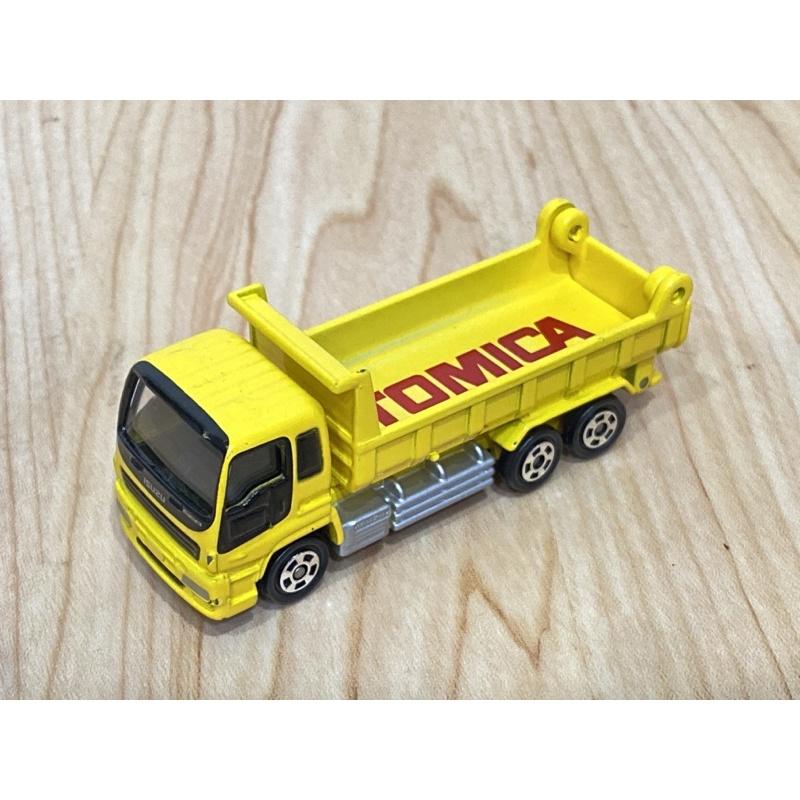 TOMICA 非賣品 ISUZU GIGA DUMP TRUCK 黃色 卡車 多美 101 砂石車 貨車 20