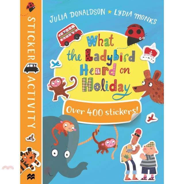 What the Ladybird Heard on Holiday Sticker Book【三民網路書店】[73折]