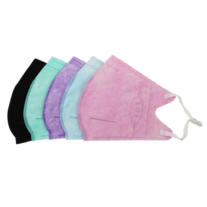 💥降價出清💥aok口罩~成人立體口罩(50入,藍色、紫色、黑色)均為L