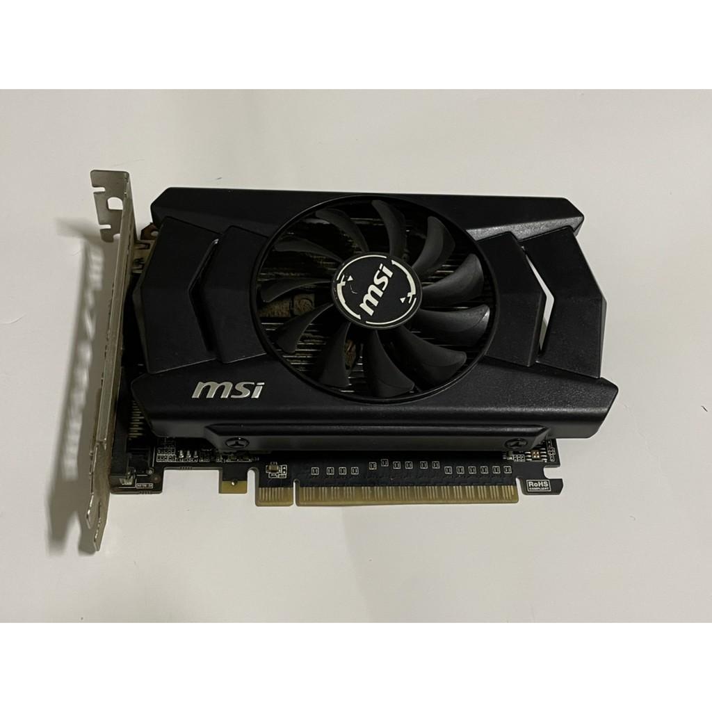 MSI GTX 750TI 2G 免插電顯卡