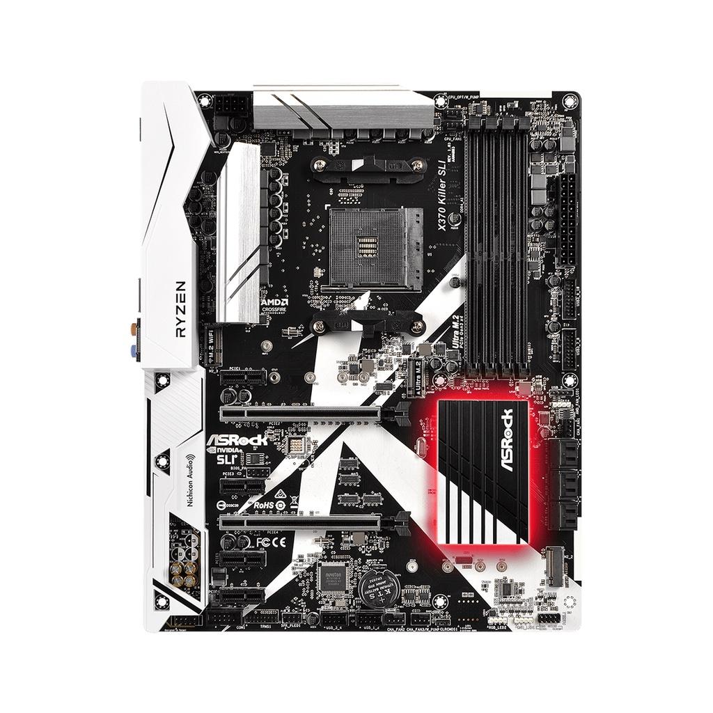 ASROCK 華擎 X370 Killer SLI 主機板 支援R3 3300x R5 3600