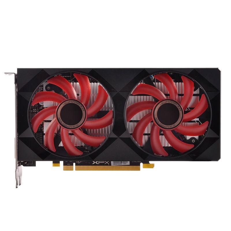 新品熱賣AMD XFX/訊景 R7 240A 2G魔劍 RX550 4G高清獨立游戲顯卡LOL顯卡
