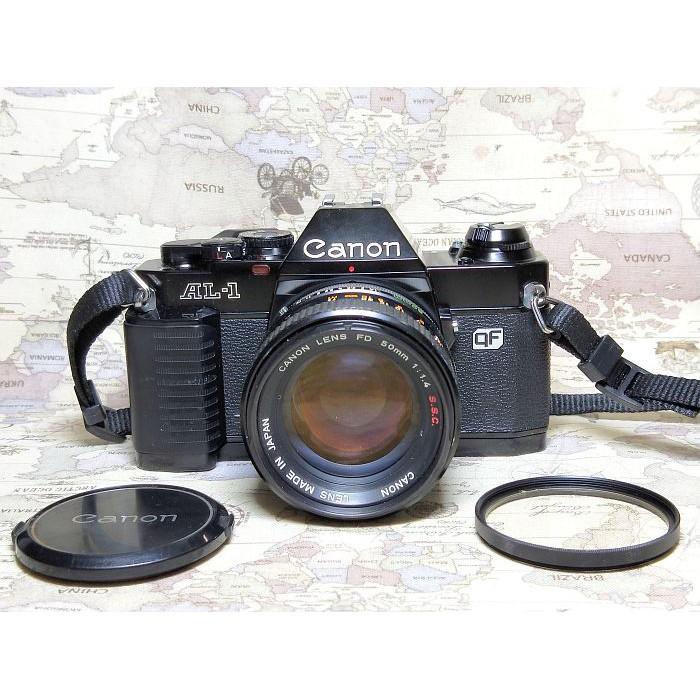 【跳蚤小舖子】Canon AL-1 + FD 50/1.4 S.S.C.   QF快速對焦輔助系統
