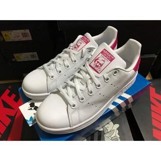正品 經典 百搭款  adidas Stan Smith 粉紅 桃紅 老人頭   B32703 新北市