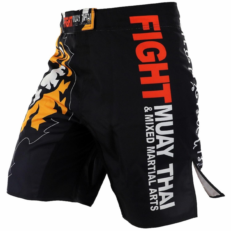 ARFIGHTKING搏擊短褲播求老虎綜合格鬥健身運動UFC泰拳散打短褲