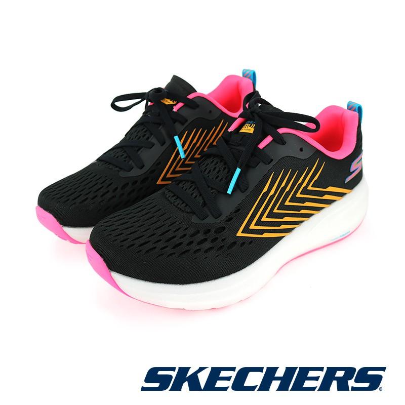 【SKECHERS】女 慢跑系列 GORUN RIDE 8 FLOW - 130018BKMT - 黑彩