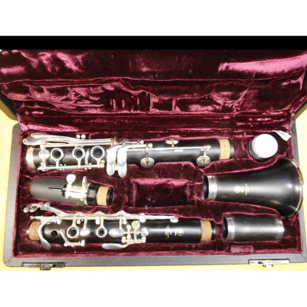 樂器之家 山葉中古二手豎笛降B調 YAMAHA YCL-450 豎笛 山葉YCL 450 豎笛黑管單簧管