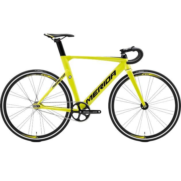 《MERIDA》美利達fixed gear 銳克多REACTO TRACK 500 麗黑/內檬綠《新店美利達旗艦店》