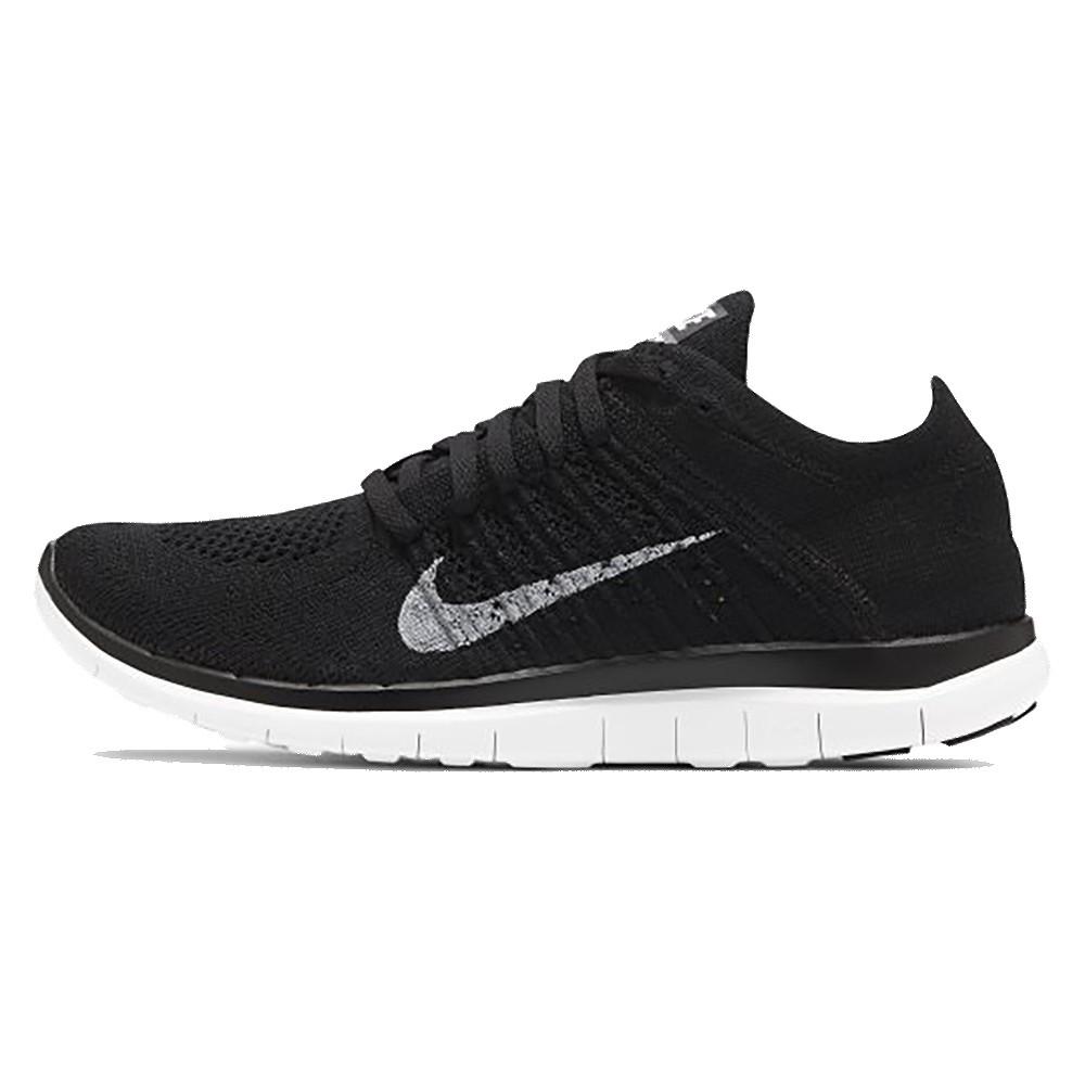 NIKE FREE 4.0 FLYKNIT 黑白 男 編織 運動 慢跑鞋 631053001