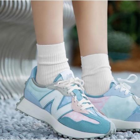 ✨促銷優惠✨NEW BALANCE 327 iu同款 Paisley pack 腰果花 藍粉色 紅藍色  運動休閒鞋