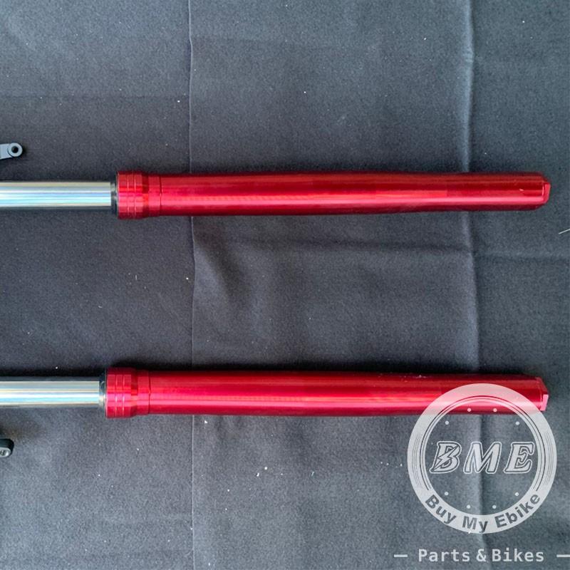 【BME】全新 M3 改裝倒立式前叉 (665mm) Ebike, 電動車, 戰狼, INSKEY Front fork