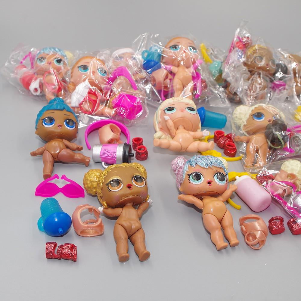 LOL Surprise Doll Figure隨機玩具Big Sister系列ANGEL五彩紙屑衣服