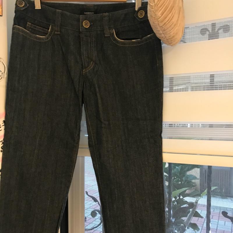 BURBERRY~9分牛仔褲