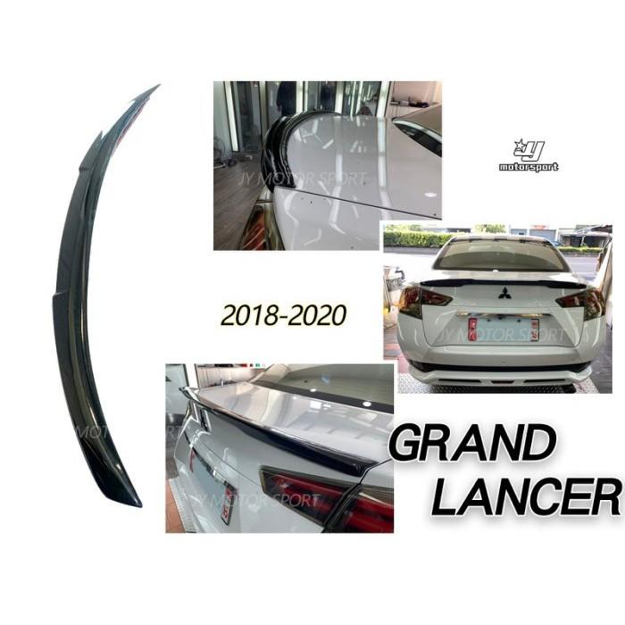 JY MOTOR 車身套件~MITSUBISHI GRAND LANCER 亮黑 平貼式 尾翼 鴨尾