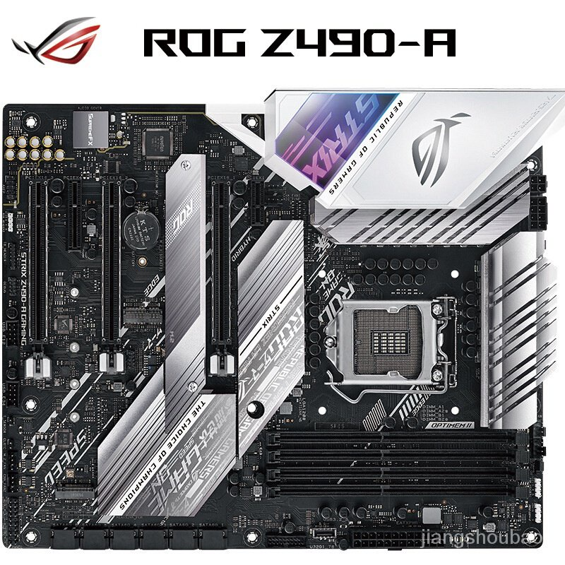 【現貨】玩家國度 ROG STRIX Z490-A GAMING 吹雪主板(Z490/LGA 1200)電腦零組件