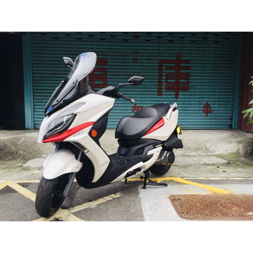 KYMCO G-Dink300 二代 白 ABS