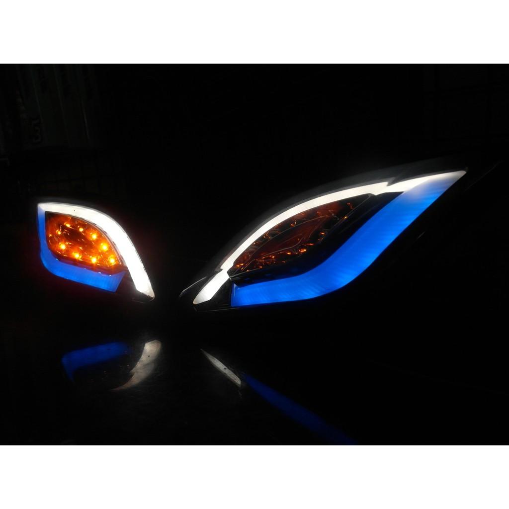 『六扇門』GMS D1方向燈 三代戰 勁戰 D1 方向燈 前方向燈 導光 光導 狂派 LED 整合式 三代 勁戰 導光