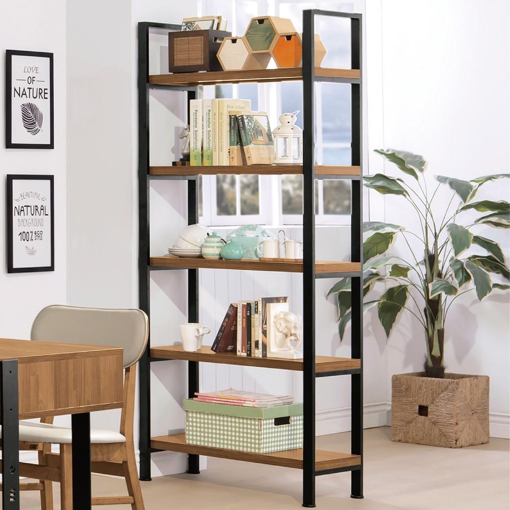 【80cm玄關架-B350-01】書房 書櫃 書架 櫥櫃 層架收納整理 【金滿屋】