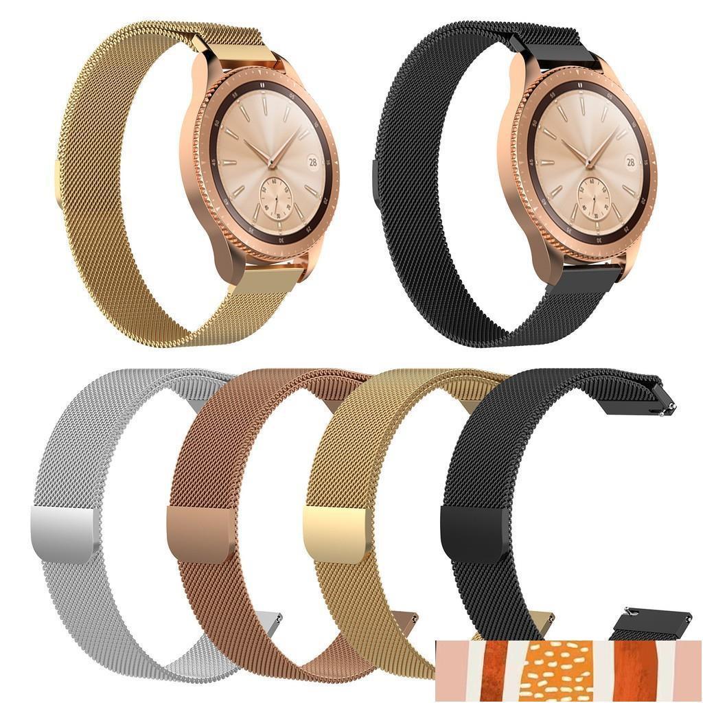 Annie的小店Garmin Vivolife錶帶 米蘭金屬錶帶 Vivolife悠遊卡智慧手錶 替換腕帶磁吸錶帶
