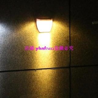 【工廠直銷】光控太陽能8LED庭院壁燈 籬笆燈戶外柵欄燈太陽能草坪燈路燈