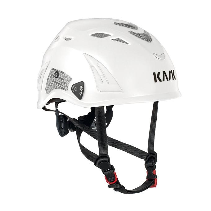 義大利 KASK SUPERPLASMA PL HI VIZ 攀樹/攀岩/工程/救援/戶外活動 頭盔 (反光白)
