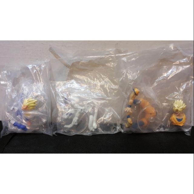 【正版全新 現貨 3款合售】 盒玩 轉蛋 非一番賞 七龍珠 超 劇場版 可動系列 悟空 貝吉達 弗利沙