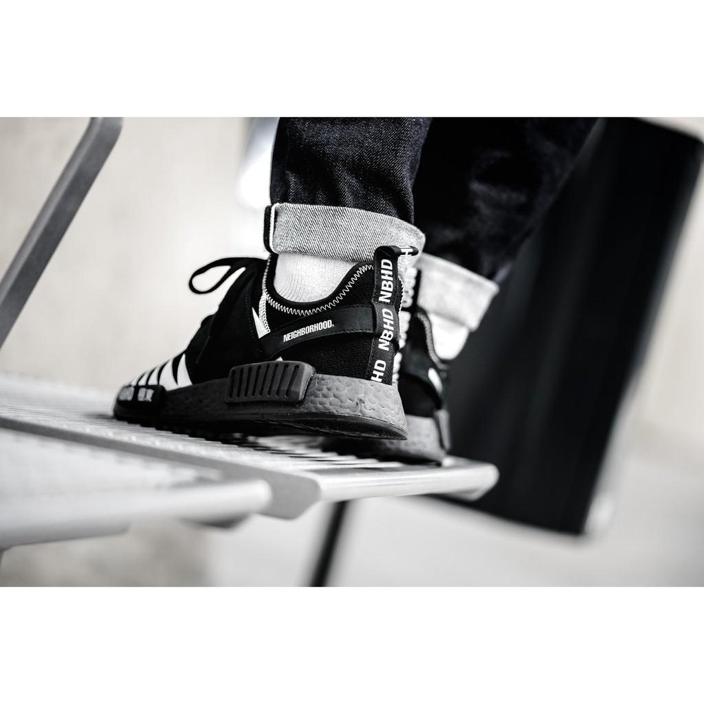 brand new 749e3 490dd adidas x Neighborhood NMD_R1_PK DA8835 來自暗黑界聯名 男款