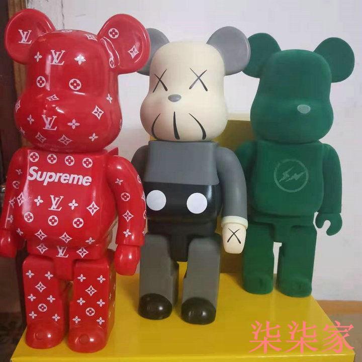 迪士尼 樂高 玩具 supreme大號28CM暴力熊潮流擺件DC暴力熊漫威暴力熊迪士尼暴力熊