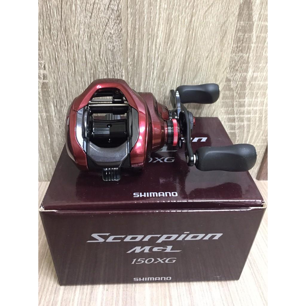 🔥【平昇釣具】🔥 SHIMANO 紅蠍 Scorpion MGL 150 150HG 150XG 小烏龜 路亞輪