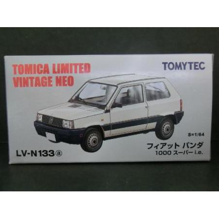 TOMICA TOMYTEC LV-N133a FIAT Panda 飛雅特 熊貓 S