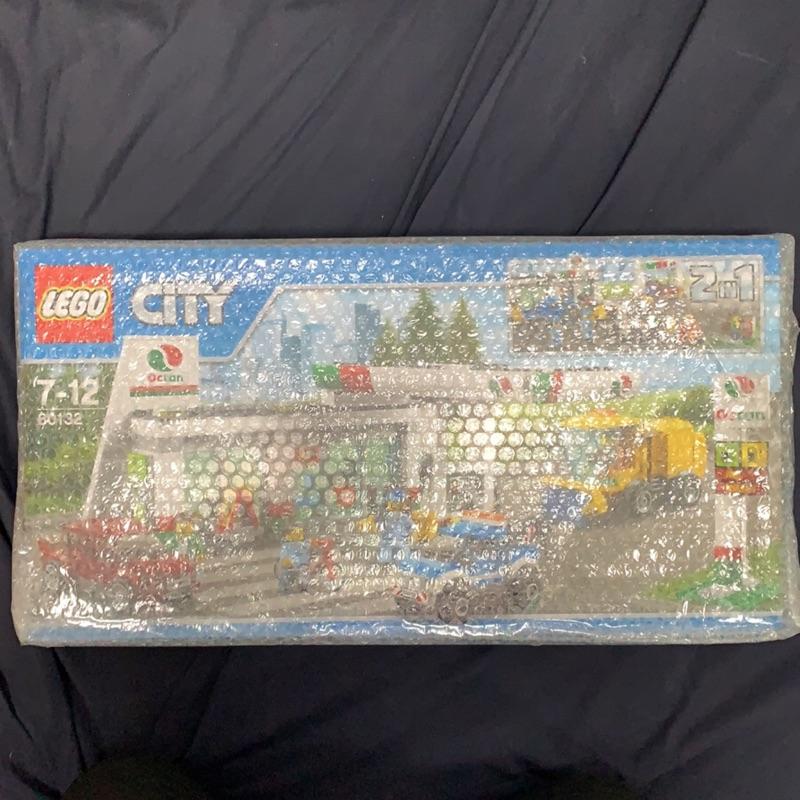 樂高 LEGO 60132 加油維修站 CITY系列