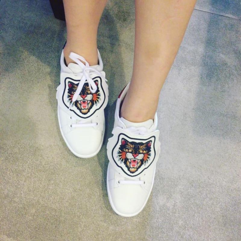 Gucci造型豹貓鞋