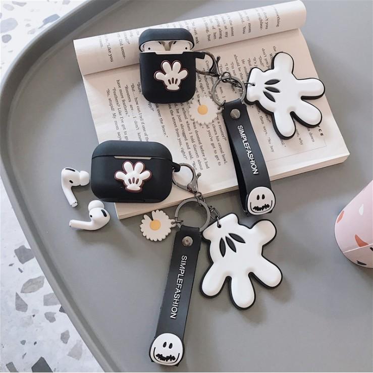 創意米奇手套 airpods pro保護套 GD雛菊 airpods保護套 個性 pro耳機套
