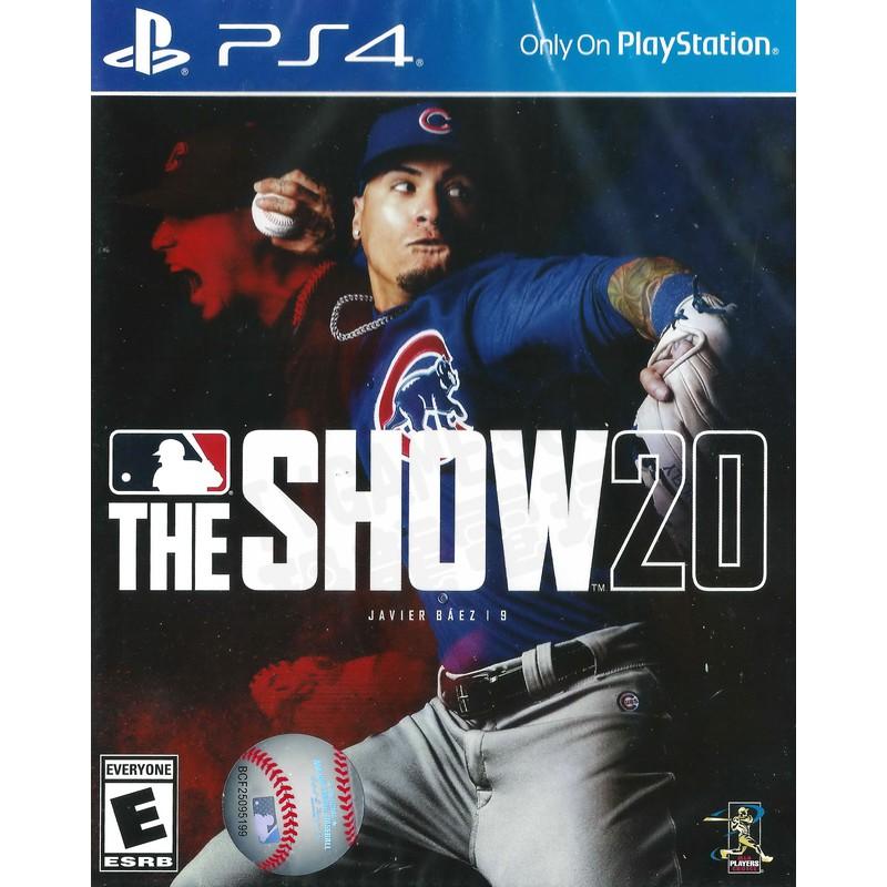 【全新未拆】PS4 美國職棒大聯盟2020 MLB THE SHOW 20 一般版 英文版【台中恐龍電玩】