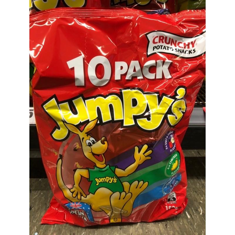 澳洲袋鼠餅乾/袋鼠洋芋片(10包裝、雞汁、原味、酸醋)澳洲必買!小編超推,超好吃😆