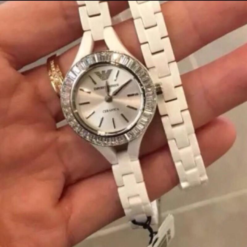 全新現貨 Armani阿瑪尼 正品全新 女士腕錶ar1482